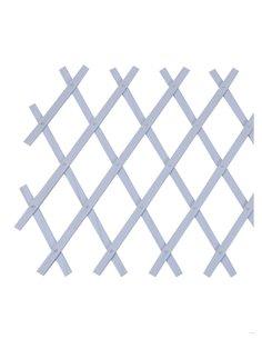 Celosía Extensible PVC Blanca