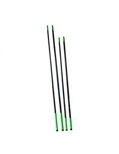 Varas de fibra de vidrio reforzadas