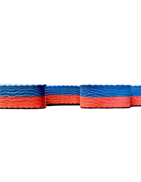 Lote 5 losetas Tatami Puzzle - Rojo/Azul