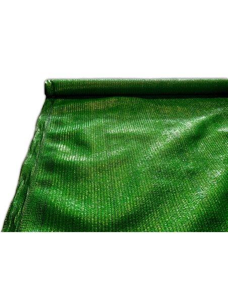 Malla de sombreo Verde - Rollo 100m