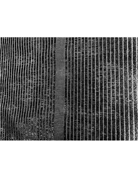 Malla de Ocultacion Negra - Rollo 100m PREMIUM