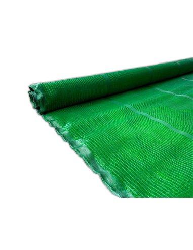 Malla de Ocultacion Verde - Rollo 100m PREMIUM