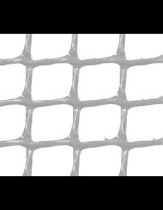 MALLA PLÁSTICA CUADRADA 1x1 cm BLANCA