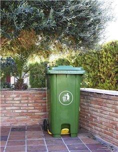 Cubo de Basura 240 litros - Verde