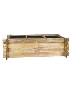 Huerto Urbano de madera - Jardinera