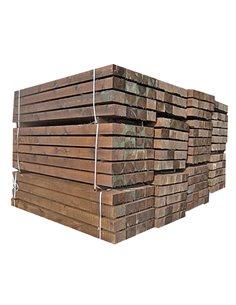 Traviesas de madera tratada