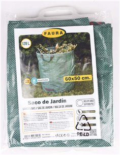 Saco de jardín - 128 litros