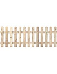 Valla de madera clásica