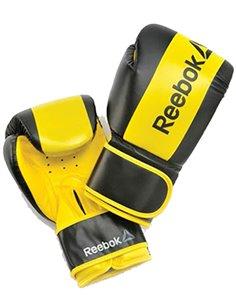 Guante Boxeo PU 12 OZ Negro/Amarillo