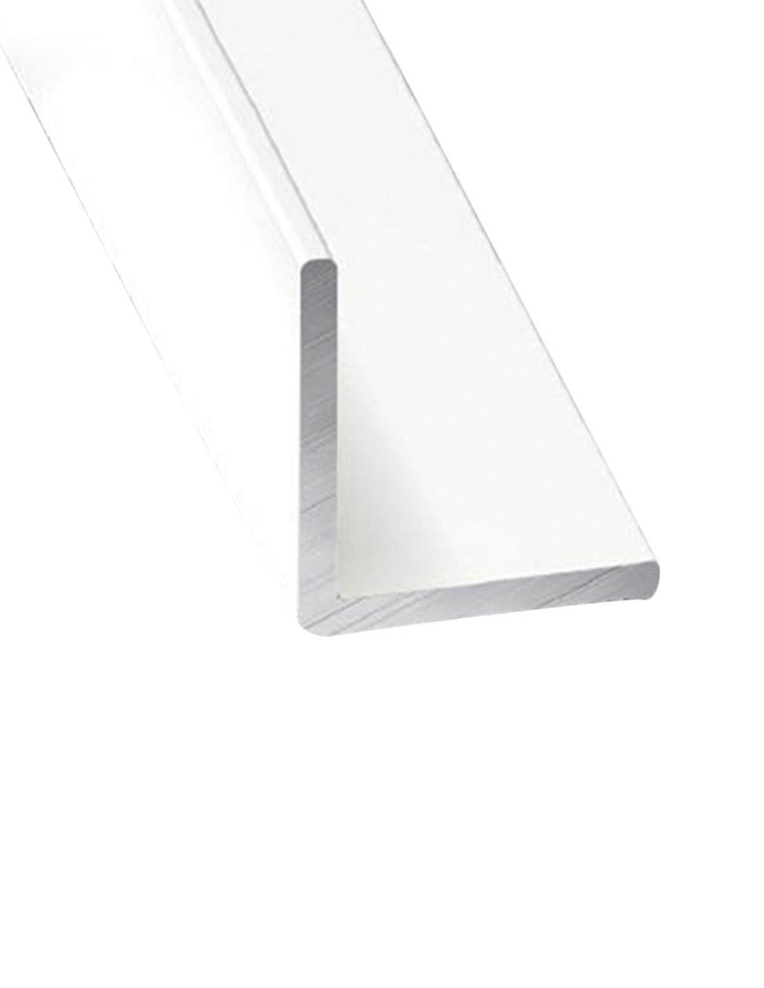 Tubo Cuadrado 210m x3 unds Jardin202 25mm Perfil de Aluminio Blanco