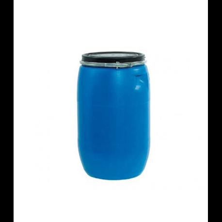 Bidón de plástico con boca ancha de 50 litros