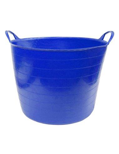 Espuerta de plástico 42 litros   Capazo de goma   Gama ColorFull Medium