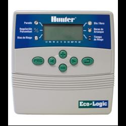 Programador De Riego Hunter ECO-LOGIC. Interior 6 Estaciones