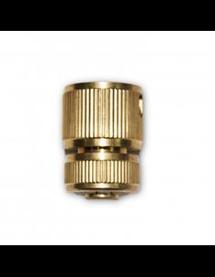 Conector manguera de latón.15 mm