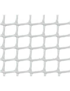 MALLA PLÁSTICA CUADRADA 0,5x0,5 cm BLANCA