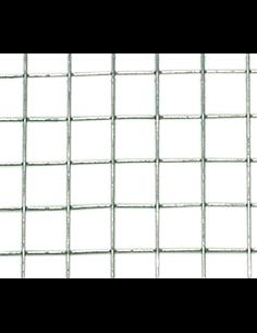 MALLA METÁLICA C/GALV. 6mm - 0,6mm