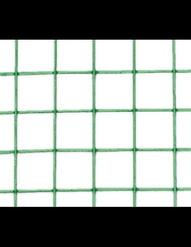 MALLA METÁLICA C/PLAST. 13mm - 0,9mm