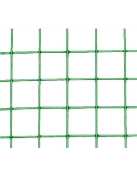 MALLA METÁLICA C/PLAST. 19mm - 1,05mm