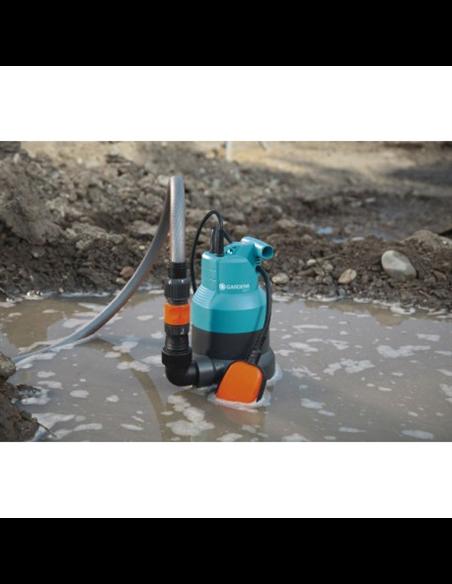 Bomba sumergible para aguas sucias 6000SP