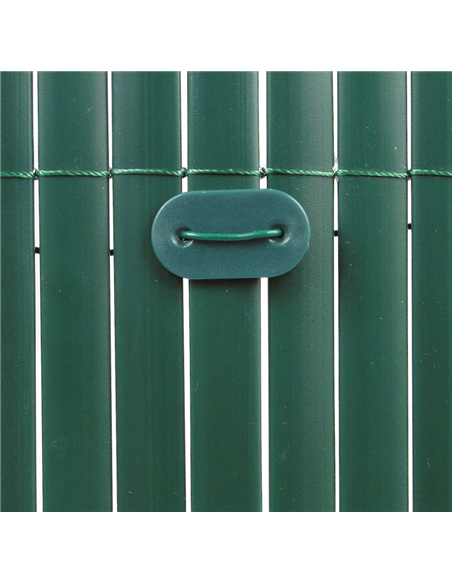 CAÑIZO PVC D/C VERDE 1160gr/metro cuadrado