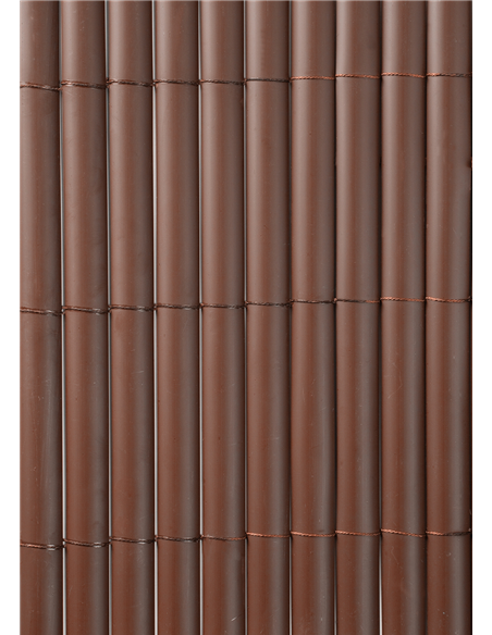 CAÑIZO PVC D/C MARRON CHOCOLATE 1160gr/metro cuadrado