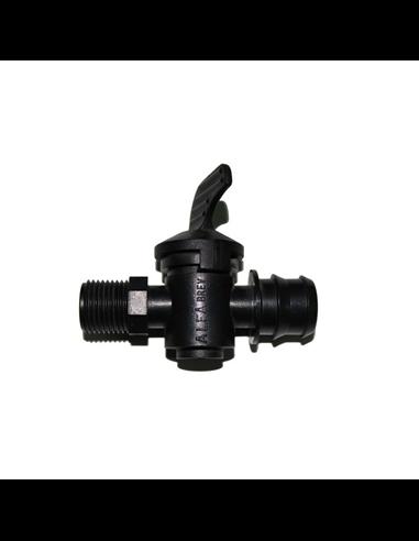 """Válvula de Goteo - 16 mm x 1/2"""""""