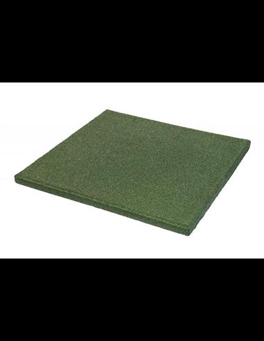 Loseta para Caballos Verde 40 mm - metro cuadrado