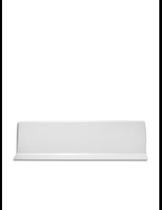 Rodapié Aluminio Labio Inferior Blanco 2-3m