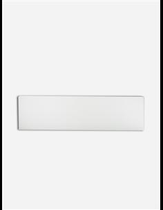 Rodapié Aluminio Blanco Recto 2-3m