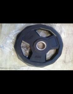 Disco Olímpico 51 mm Premium Hexagonal Casquillo Acero
