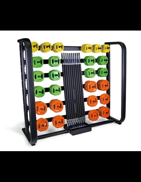 Rack Set de Pump para 25 unds.