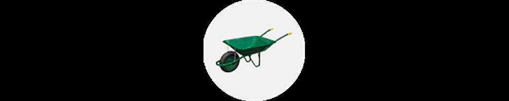 Carretillas para agricultura o sector de la obra
