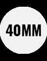 Altura: 40mm