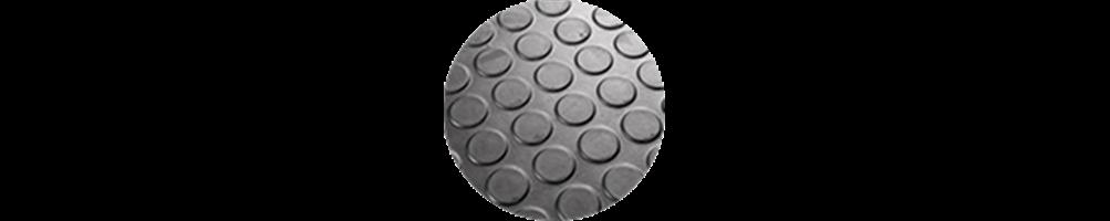 Pavimento de círculos, cauchos, gomas sbr, PVC - Jardin202